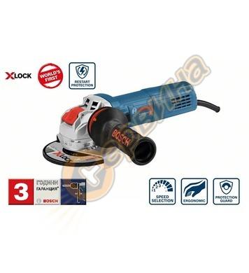 Ъглошлайф Bosch X-LOCK GWS 9-125 S Professional 06017B2000 -