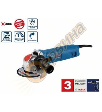 Ъглошлайф Bosch X-LOCK GWS 14-125 Professional 06017B7000 -