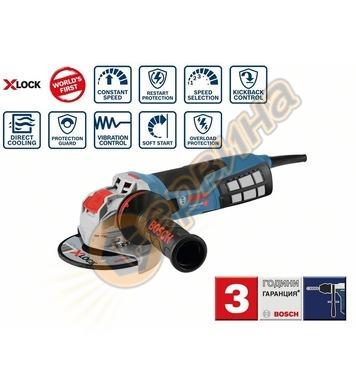 Ъглошлайф Bosch X-LOCK GWX 19-125 S Professional 06017C8002