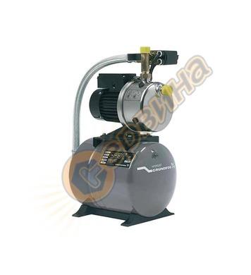 Хидрофорна помпа Grundfos JPB 6 4661BQBB 60л - 1400W 50м 5м&