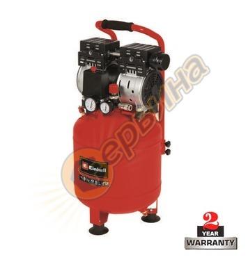 Безмаслен компресор Einhell TE-AC 24 Silent 4020610 - 750 W,