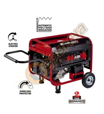 Бензинов генератор Einhell TC-PG 5500 WD 4152560 - 5.5 kW, 2