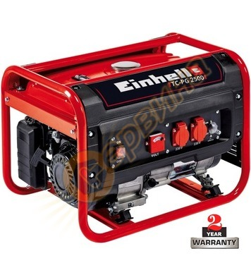 Бензинов генератор Einhell TC-PG 25/E5 4152541 - 2.1 kW, 15