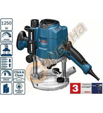 Електрическа оберфреза Bosch GOF 1250 CE Professional 060162