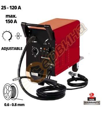Телоподаващ заваръчен автомат Einhell TC-GW 150 / 25 A 15749