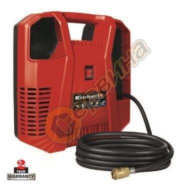 Безмаслен преносим компресор Einhell TH-AC 190 Kit 4020536 -