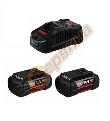 Стартов комплект Bosch 2x GBA 36V 6,0 Ah + зарядно GAL 3680