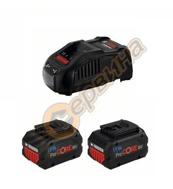 Стартов комплект Bosch 2 x ProCORE 18V 5,5 Ah + GAL 1880 CV