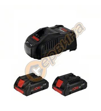 Стартов комплект Bosch 2x ProCORE 18V 4,0Ah + GAL 1880 CV Pr