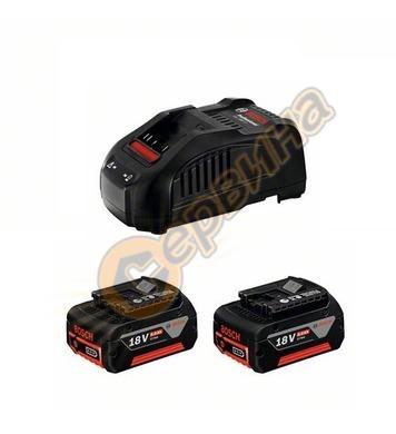 Стартов комплект Bosch 2x GBA 18V 5,0Ah + GAL 1880 CV Profes