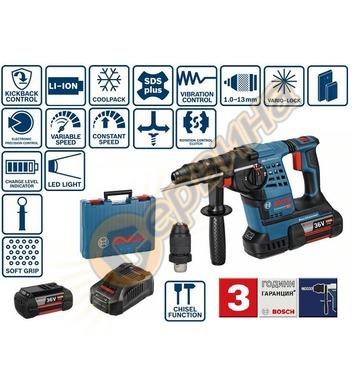 Акумулаторен перфоратор Bosch GBH 36 VF-LI Plus Professional