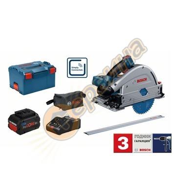 Акумулаторен ръчен циркуляр Bosch GKT 18V-52 GC Professional