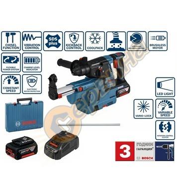 Акумулаторен перфоратор Bosch GBH 18V-26 Professional 061190