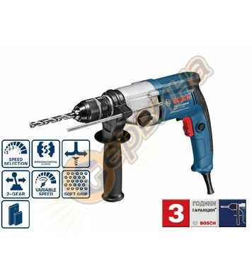 Бормашина Bosch GBM 13-2 RE Professional 06011B2000 - 750 W