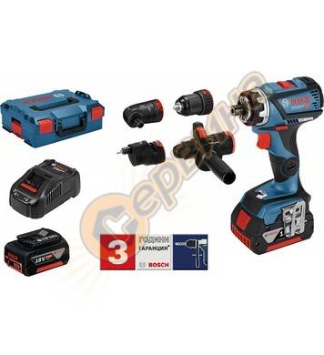 Акумулаторен винтоверт Bosch GSR 18V-60 FC SET Professional