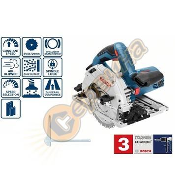 Ръчен циркуляр Bosch GKS 55+ GCE Professional 0601682100 - 1