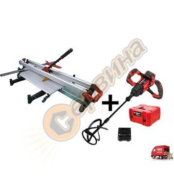 Машина за рязане ръчна Rubi TZ-1020 17951 - 102см + акумулат