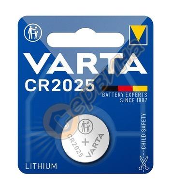 Бутонна литиева батерия Varta CR 2025 Electronics Lithium 3V