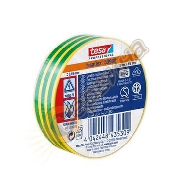 Изолирбанд Tesa Professional зеленожълта 53988-00081-00 - 19