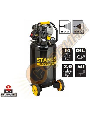 Маслен компресор Stanley HY227-10-50V - 1.5kW 50л 10 бара