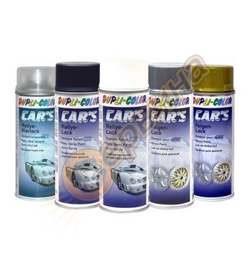 Акрилна спрей боя - Безцветен лак мат Dupli Color CAR'S RAL9