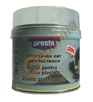 Еластичен кит за пластмаса Presto DE046009 - 250 грама