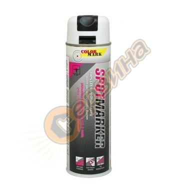 Маркиращ спрей Colormark Spot MARKER DE031446 бял - 500 мл