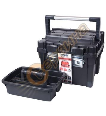 Куфар за инструменти Patrol HD Compact 1, черен 15158 - 450
