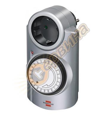 Механичен таймер Brennenstuhl 1506530 Primera-line MT20, сив