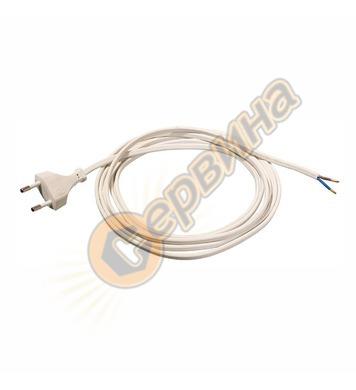 Захранващ кабел AS Schwabe 70641 - 2x0.75 кв.мм, 1.5 м