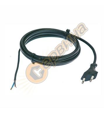 Захранващ кабел AS Schwabe 70642 - 2x0.75 кв.мм, 1.5 м