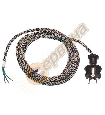 Захранващ кабел AS Schwabe 87202 - 3x1.00 кв.мм, 3 м
