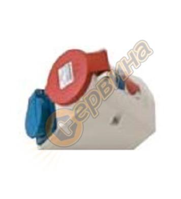 Електрически промишлен контакт AS Schwabe 60437 - монофазен