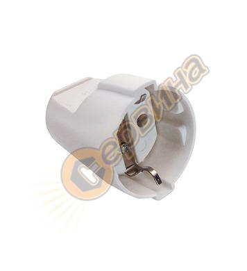 Електрически контакт AS Schwabe 45011 - тип куплунг, бял
