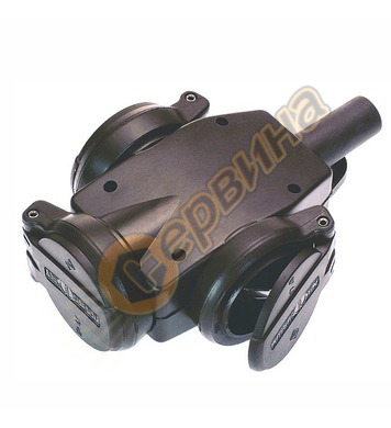 Електрически контакт AS Schwabe 60455 - тип куплунг, черен