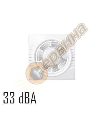 Вентилатор Colibri 100 C квадрат без клапа 4043100