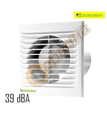 Вентилатор DomoVent 100-125 S квадрат без клапа 4022100