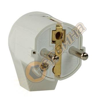 Електрически щепсел AS Schwabe 45041 - монофазен, шуко, ъгло