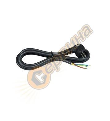 Захранващ кабел Commel C0611 - 16 A, 1,5 м, черен