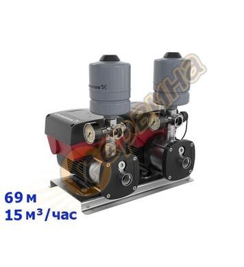 Инверторна бустер система с 2 помпи Grundfos CMBE TWIN 5-62