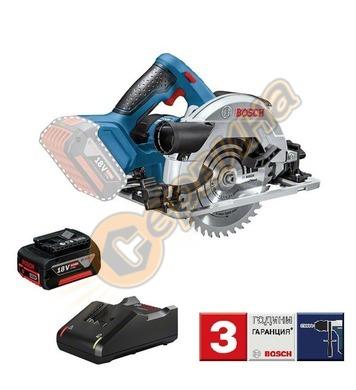 Акумулаторен ръчен циркуляр Bosch GKS 18V-57 0615990M42 - 18