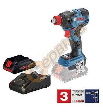 Акумулаторен ударен гайковерт Bosch GDX 18V-200 C Profession
