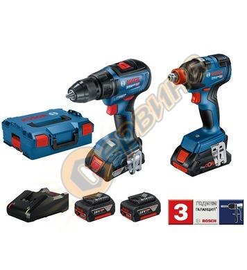 Акумулаторен винтоверт Bosch GSR 18V-50 Professional + Акуму