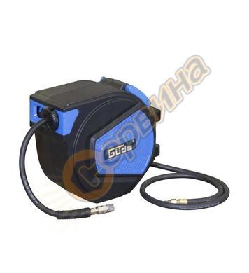 Автоматична макара с маркуч за въздух 15М  GUDE 2882