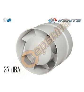Вентилатор канален Vents 100-125 VKO кръгъл без клапа 403610