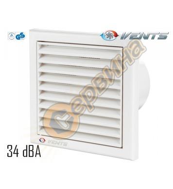 Вентилатор Vents 100-125 K квадрат без клапа 4013100