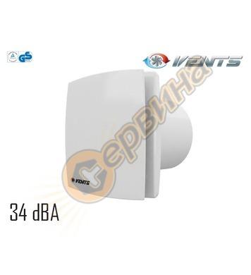 Вентилатор Vents 100-125 LD квадрат без клапа 4016100