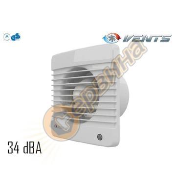 Вентилатор Vents 100-125 M квадрат без клапа 4031100