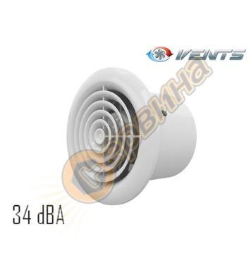 Вентилатор Vents 100-125 PF кръгъл без клапа 4019100