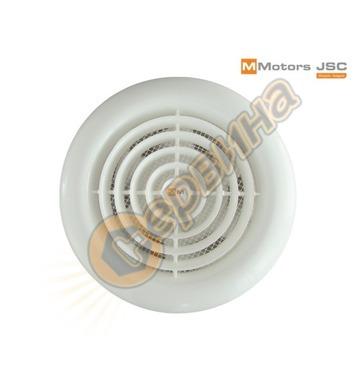 Вентилатор MMotors MM100 - кръг с клапа MM1030